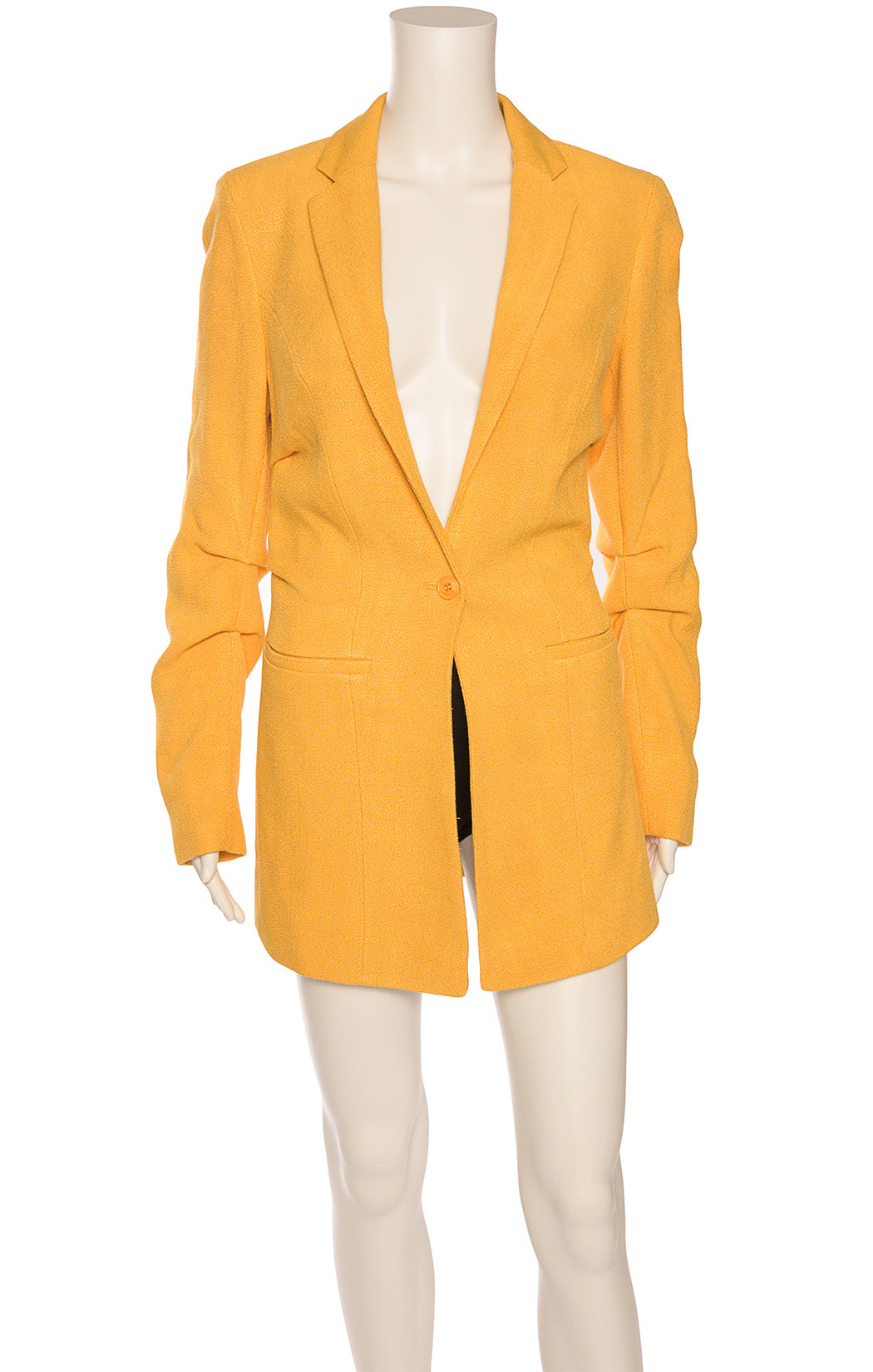 Front view of JACQUEMUS with tags Blazer Size: FR 36 (comparable to US 4)