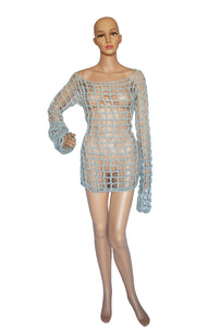 Front view of MARTIN MARGIELA Dress Size: Small