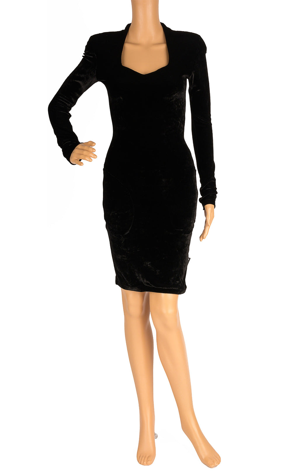 Front view of BALENCIAGA with tags Dress Size: FR 38 (comparable to US 4-6)