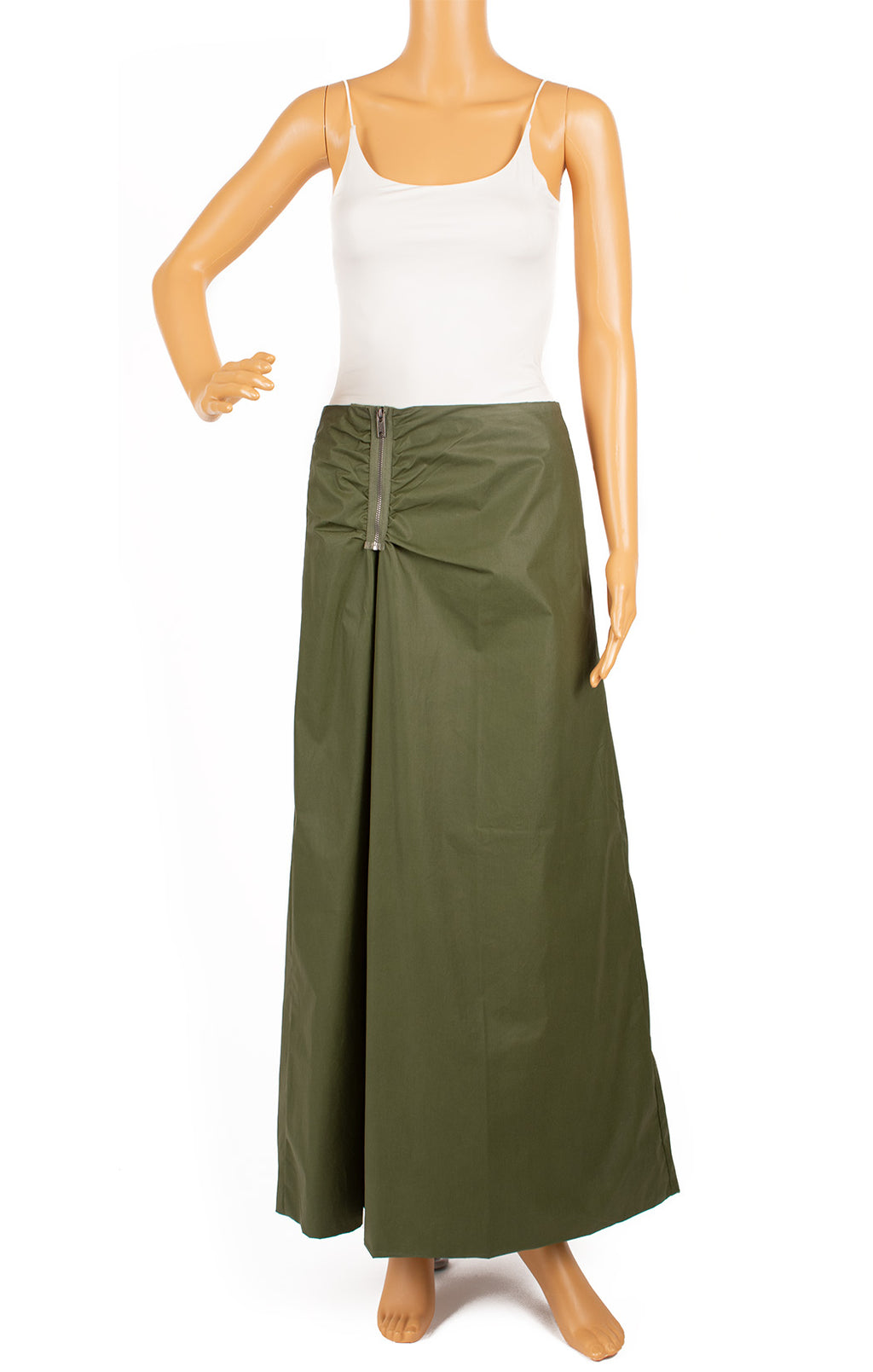 Front view of DIESEL Skirt (reversible) Size: 26 Waist