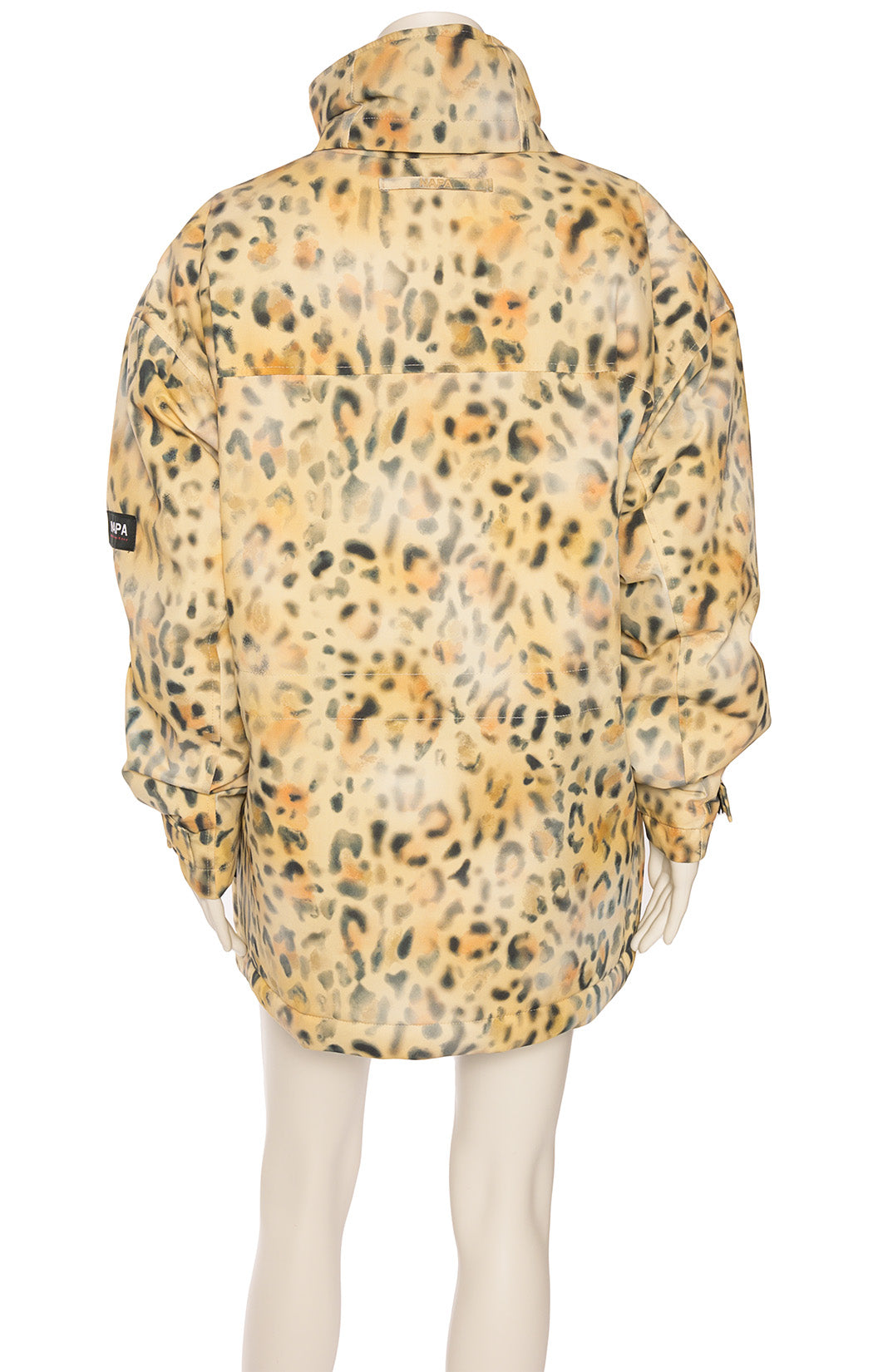 Back view of NAPAPIJRI with tags Puffer jacket/coat