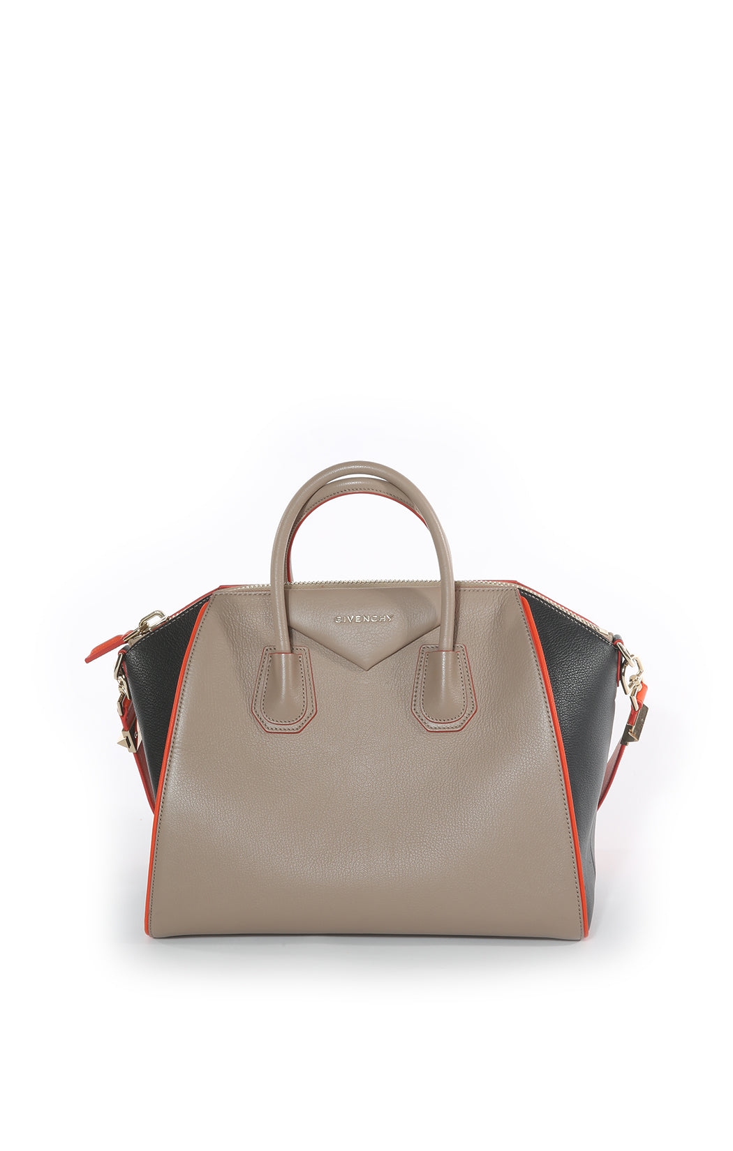 Front view of GIVENCHY Handbag Size: 15.5 in x 11.75 in x 8 in