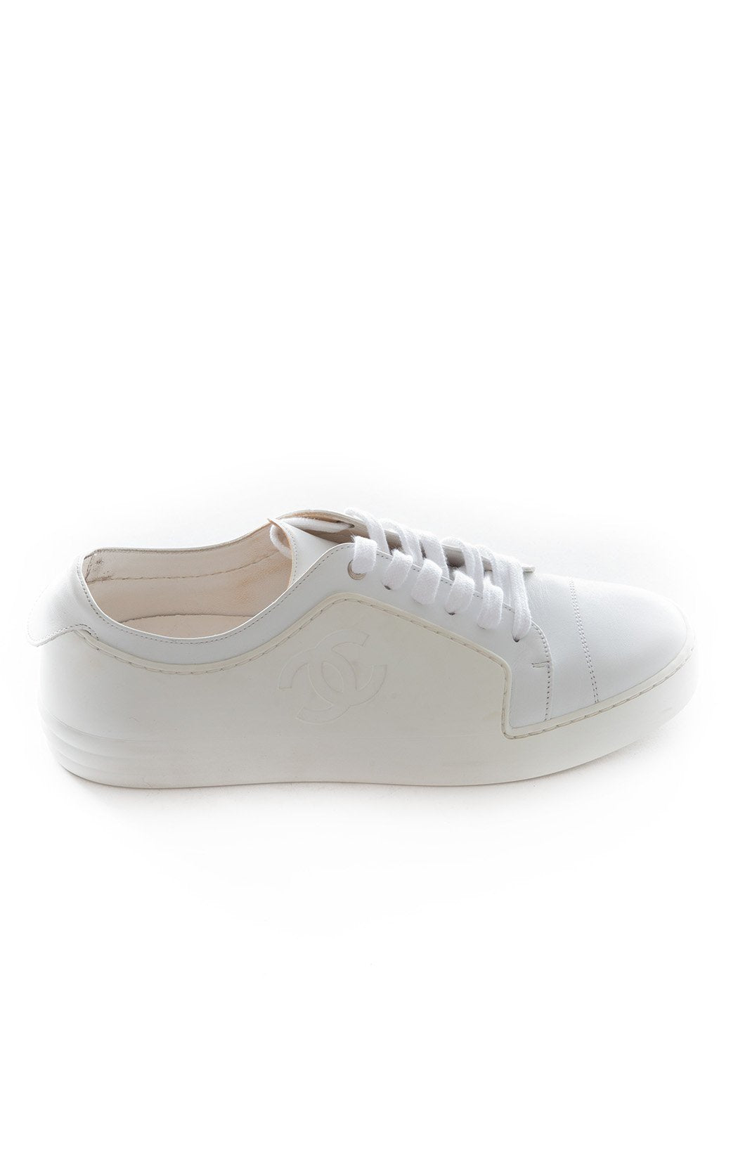 Side view of CHANEL Tennis Shoe
