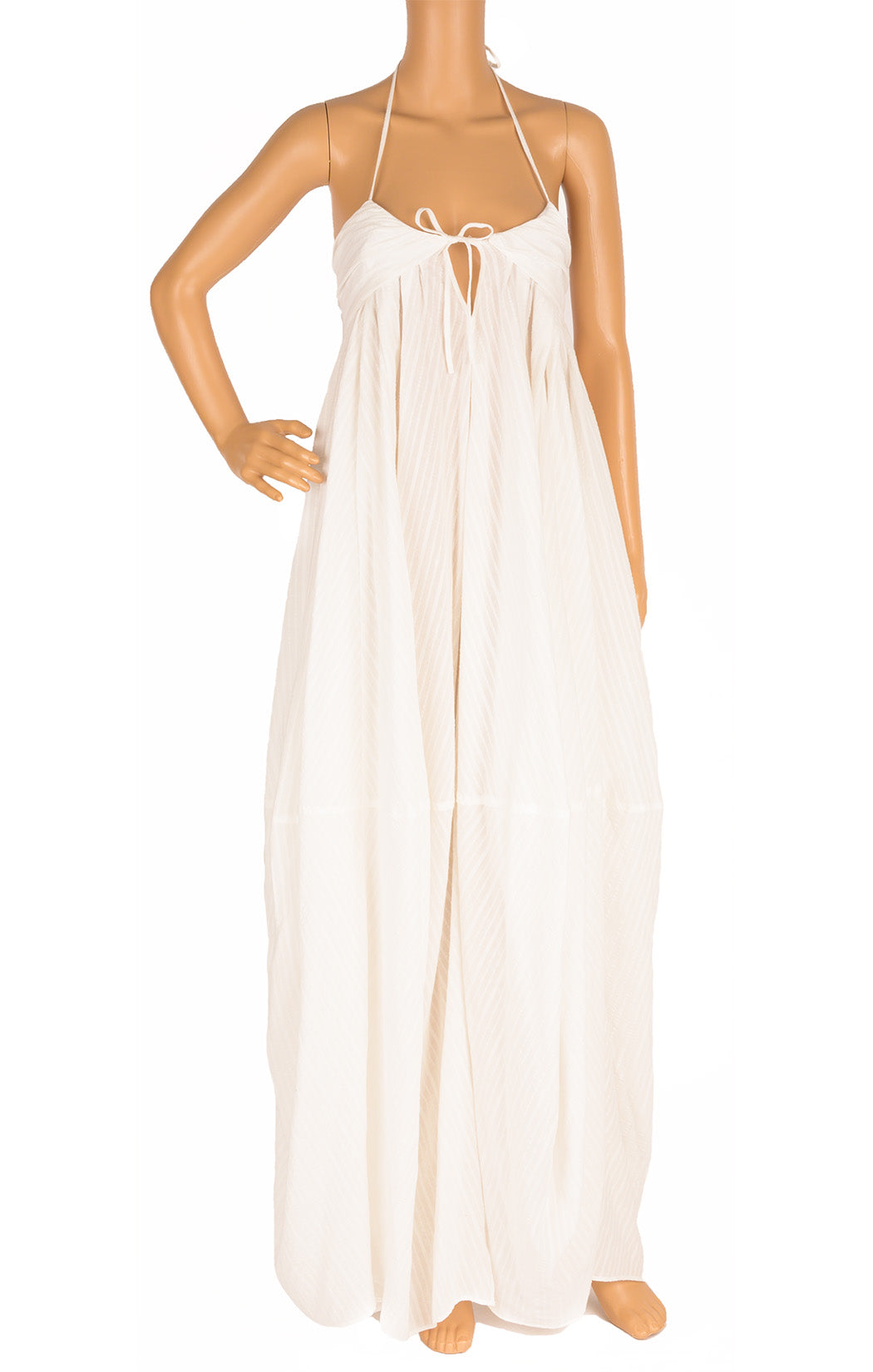 Front view of JACQUEMUS Long dress Size: no size tags fits like medium
