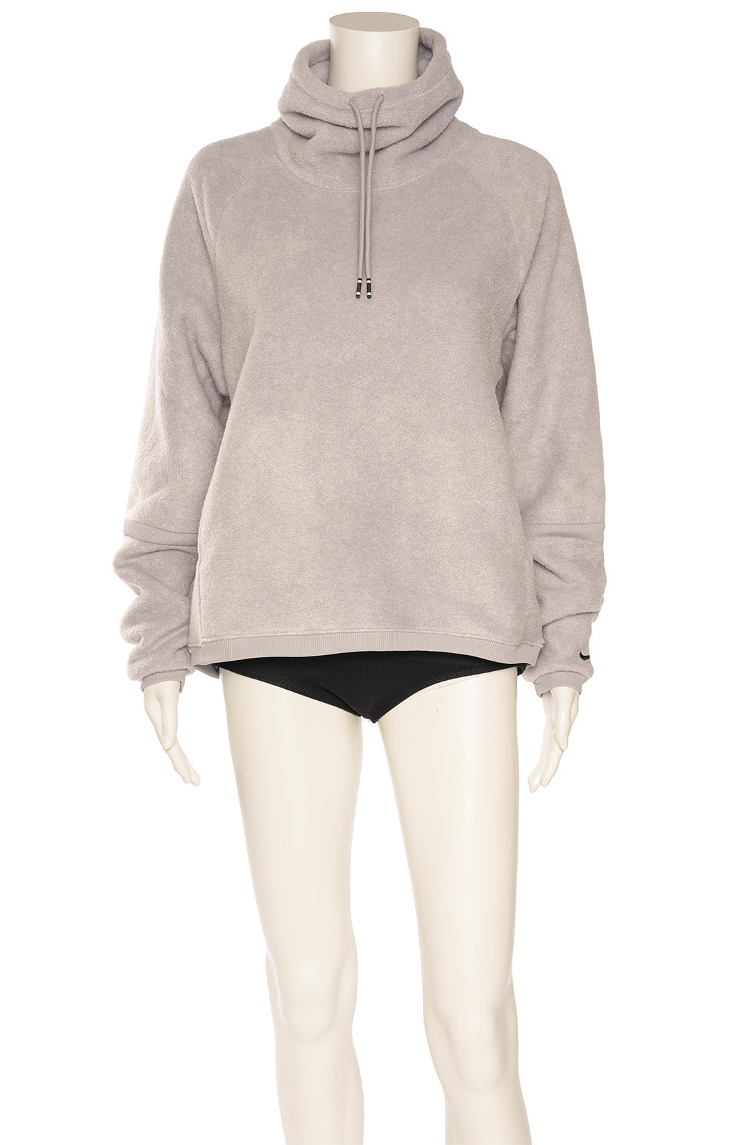 "Gray ""Therma"" pullover with side pockets"
