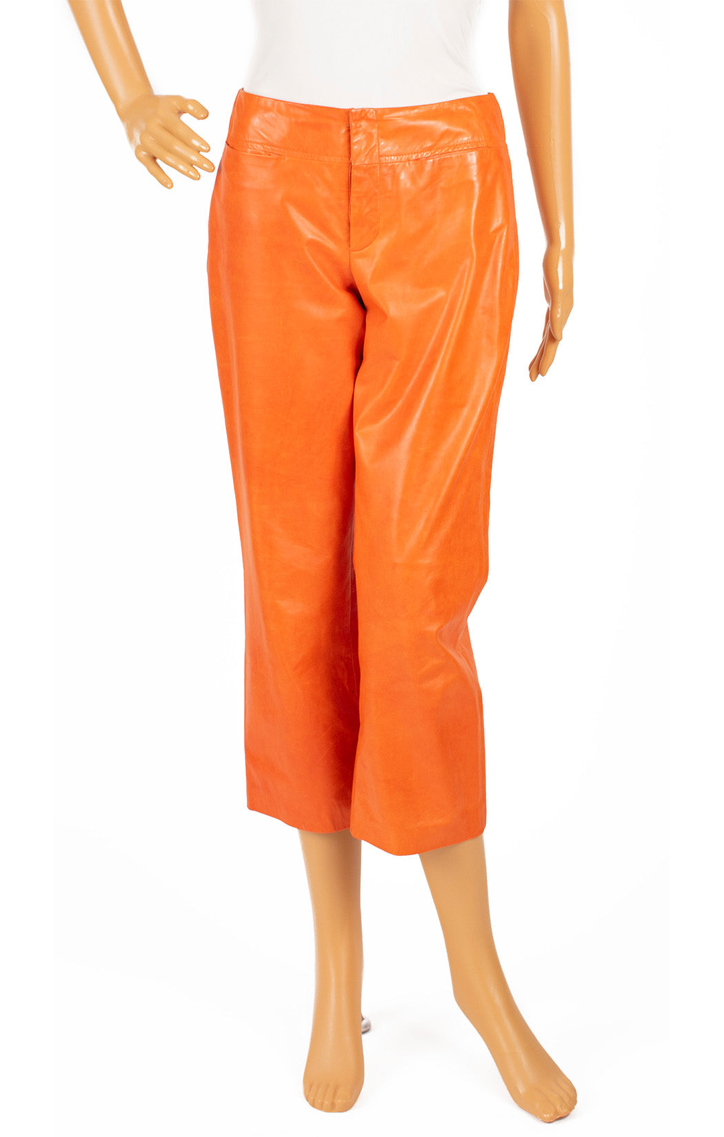 Front view CHAIKEN Leather pants Size: 6