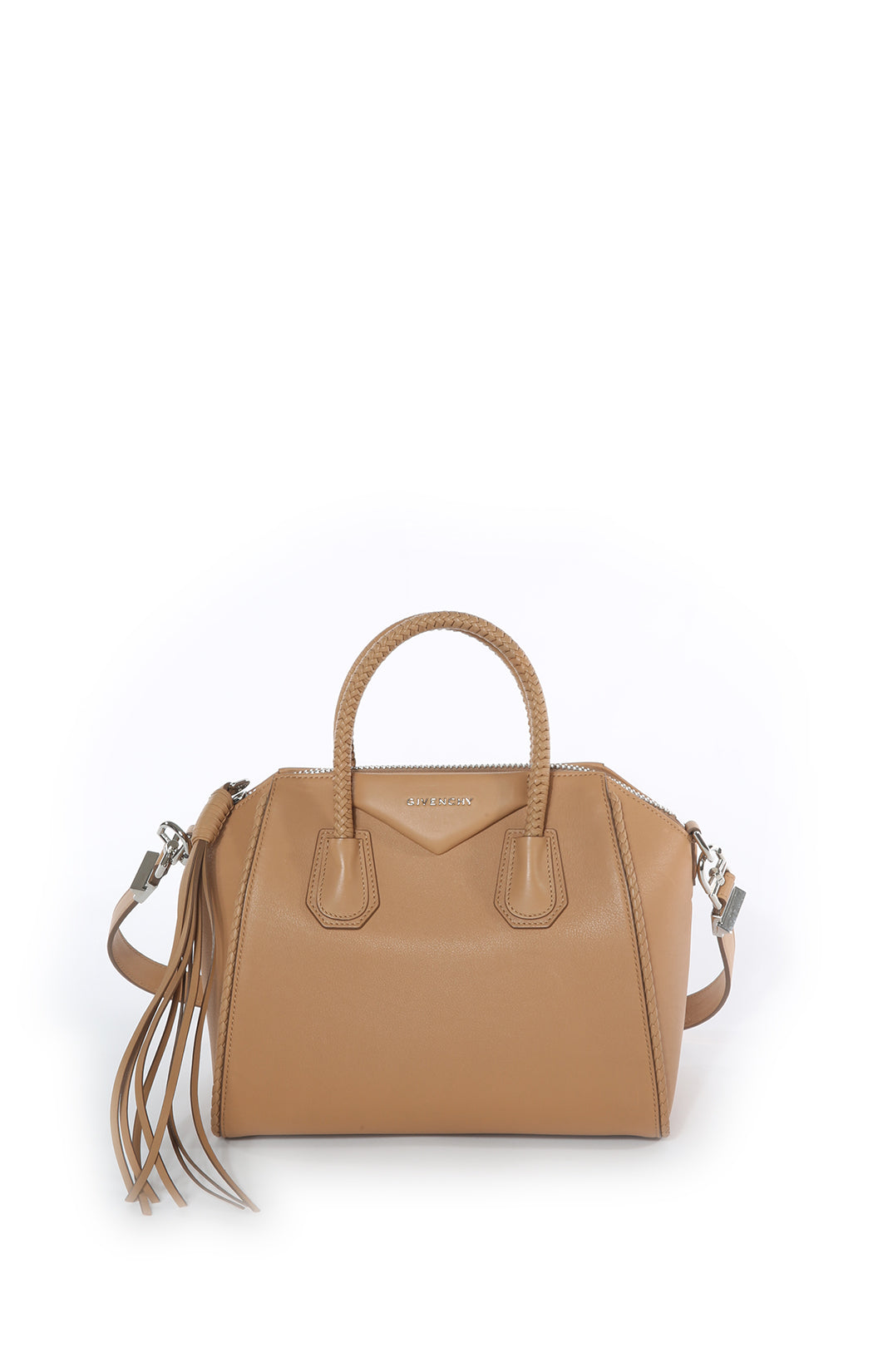 Front view of GIVENCHY Handbag Size: 13 in x 10 in x 7 in
