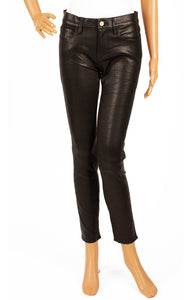 Front view of FRAME with tags Leather pants Size: 29W