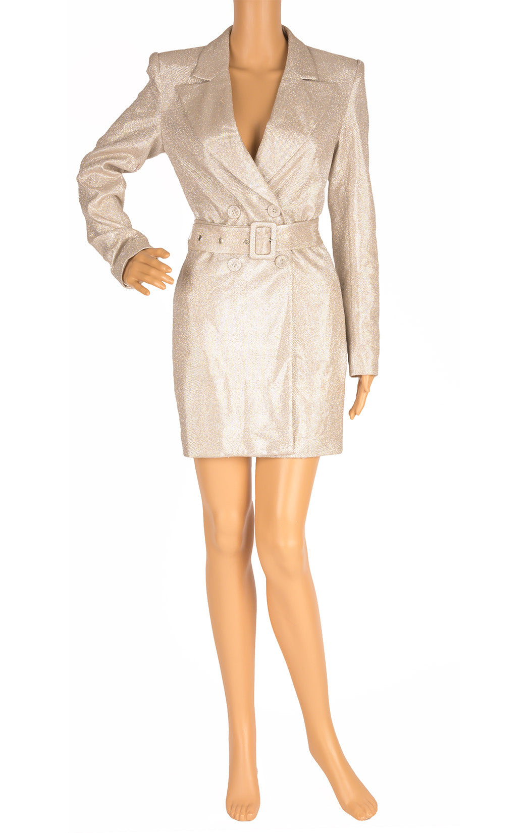 Front view of NO NAME Coat dress Size: Small