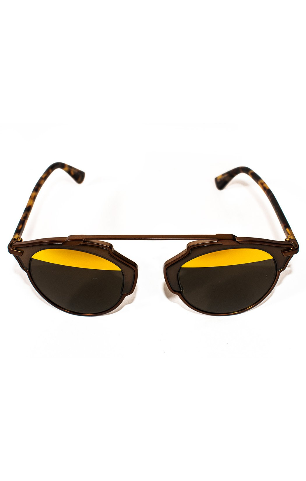 "Front view of CHRISTIAN DIOR Sunglasses Size: H 2"", W 5.5"""
