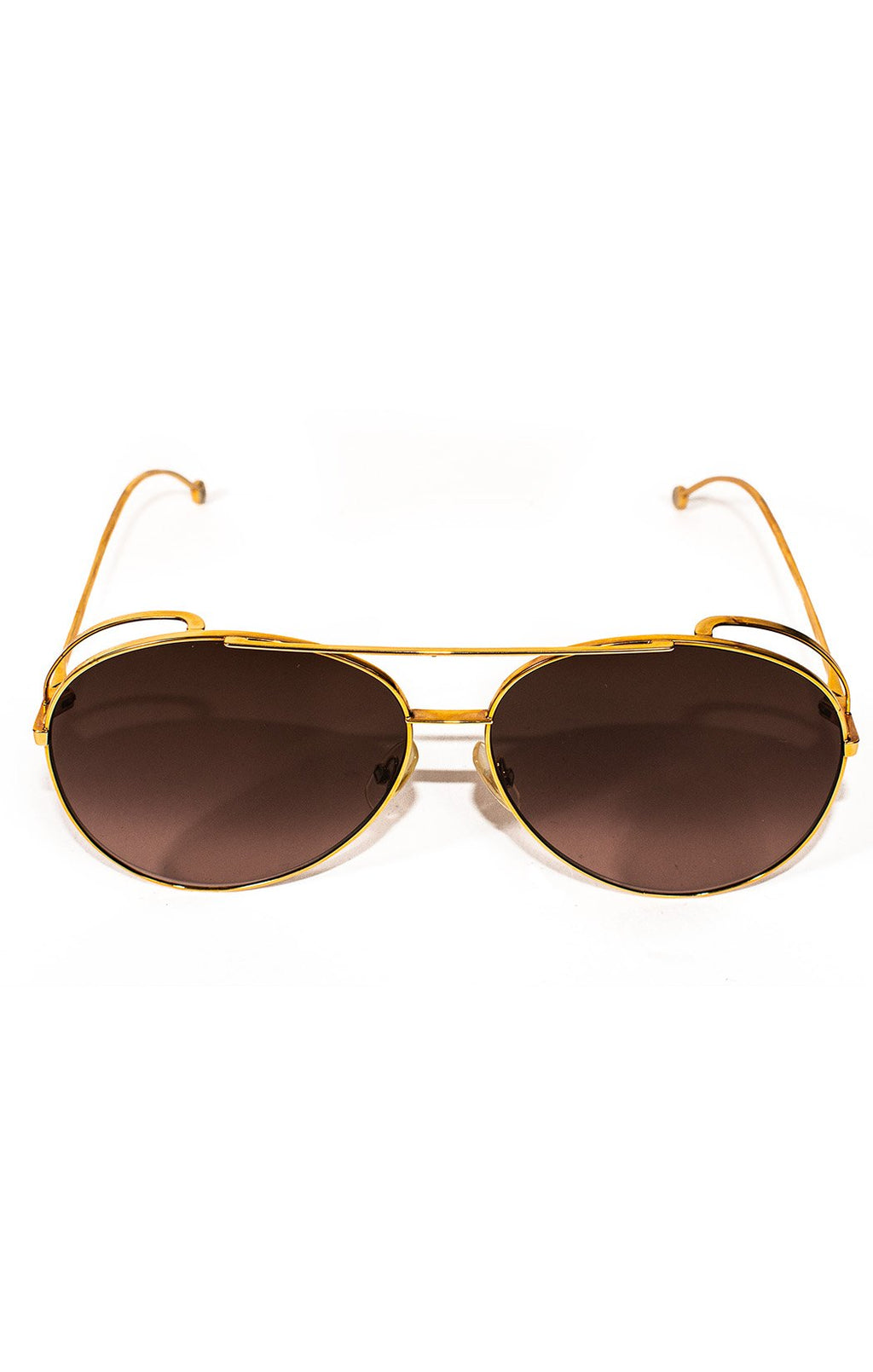 "Front view of FENDI  Sunglasses Size: H 2.5"", W 5.5"""