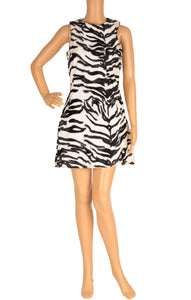 Front view of VERSACE JEANS  Dress Size: IT (comparable to US 2-4)