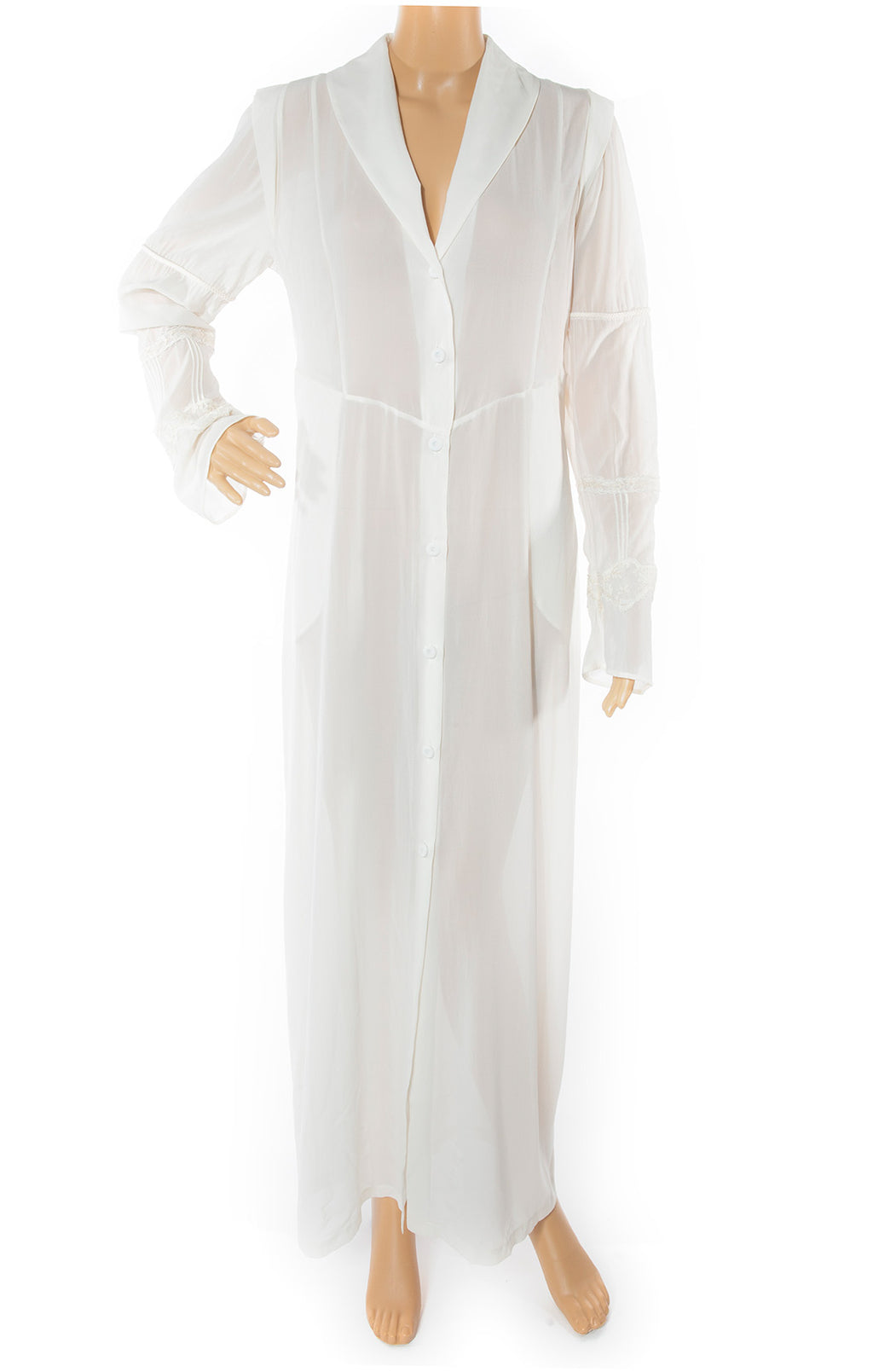 Front view of LA PERLA w/tags Robe Size: Medium