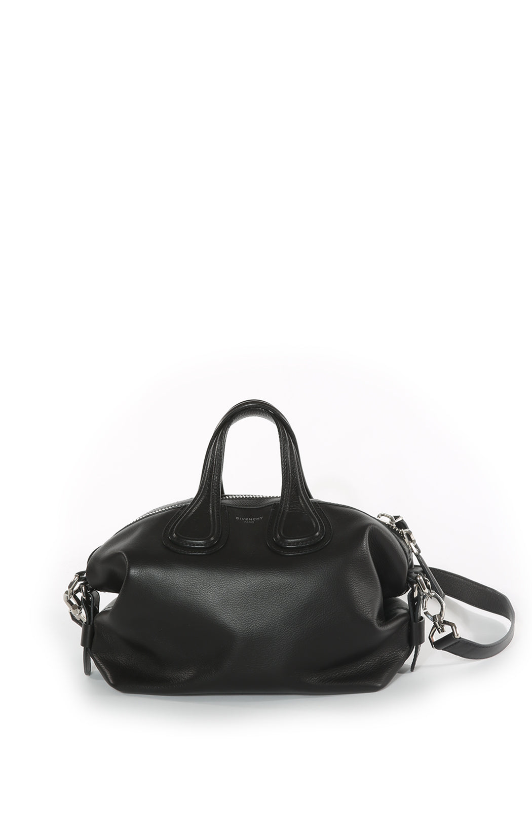 Front view of GIVENCHY  Handbag Size: 13 in x 9 in x 7 in