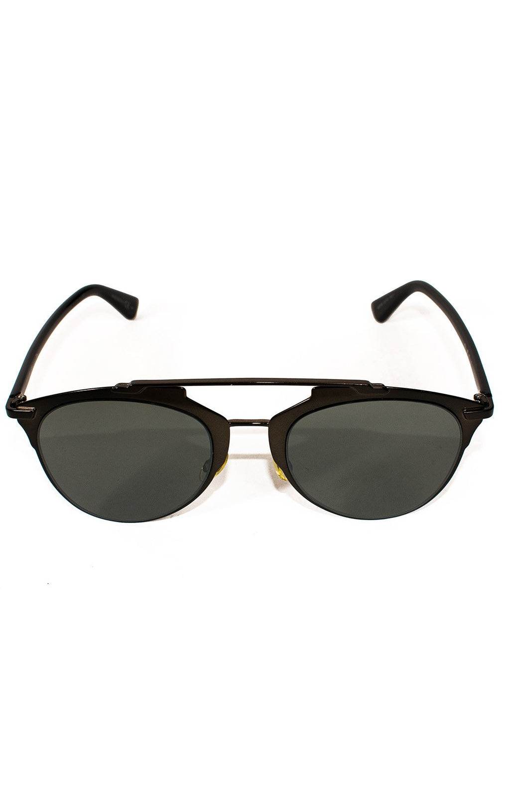 "Front view of CHRISTIAN DIOR  Sunglasses  Size: H 2"", W 5"""