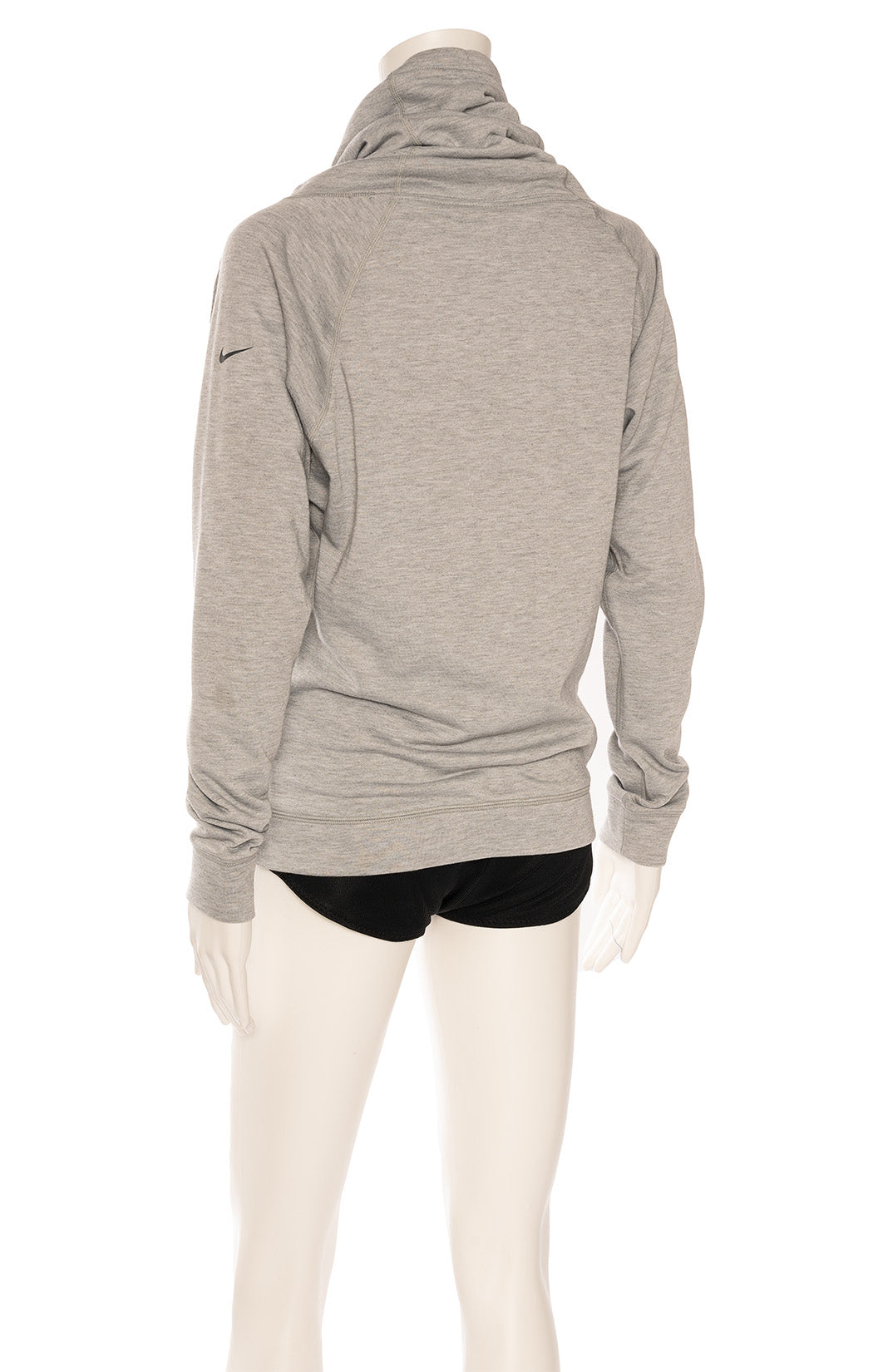 Gray cowl neck sweatshirt