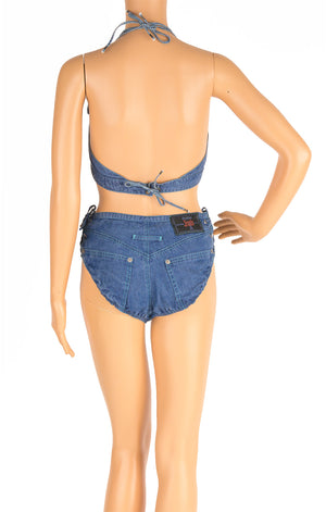 Back view of GAULTIER JEANS Bikini