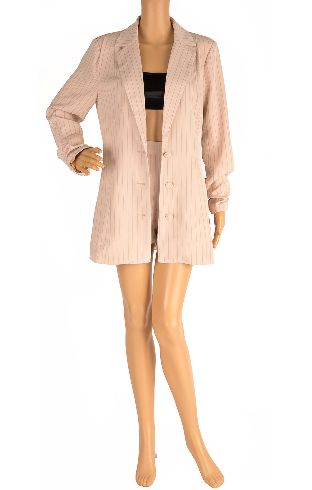 Second front view of TIGER MIST  Matching blazer and shorts