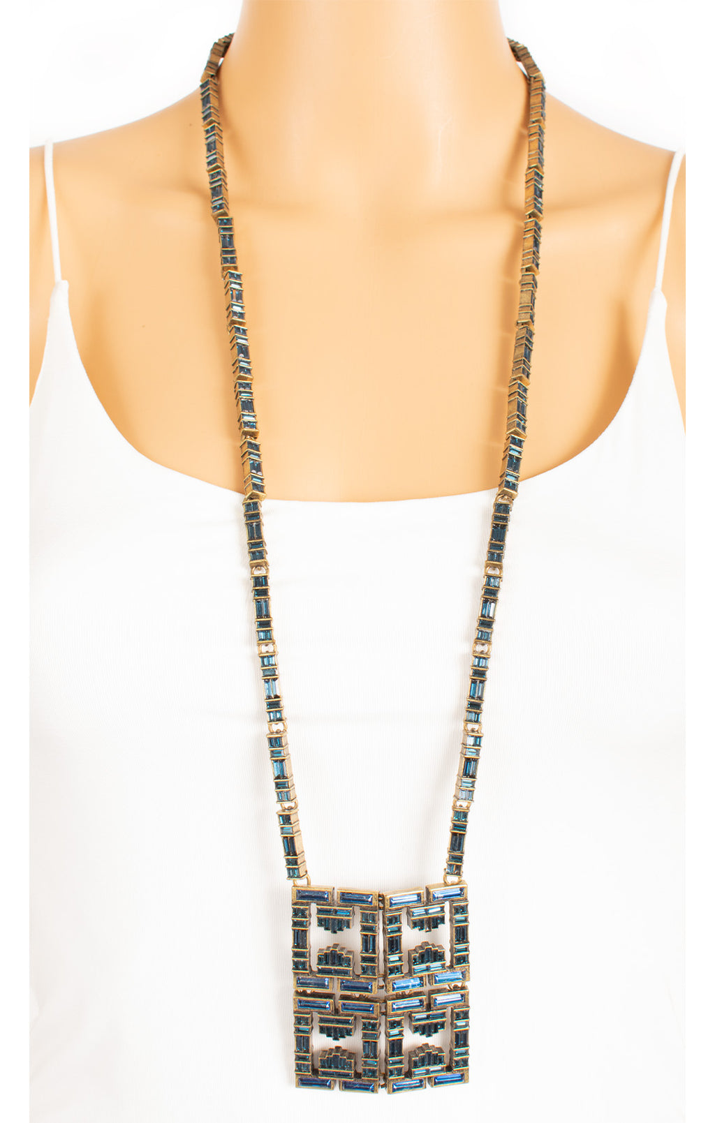 "Front view of LIA SOPHIA Necklace Size: 36"" length"
