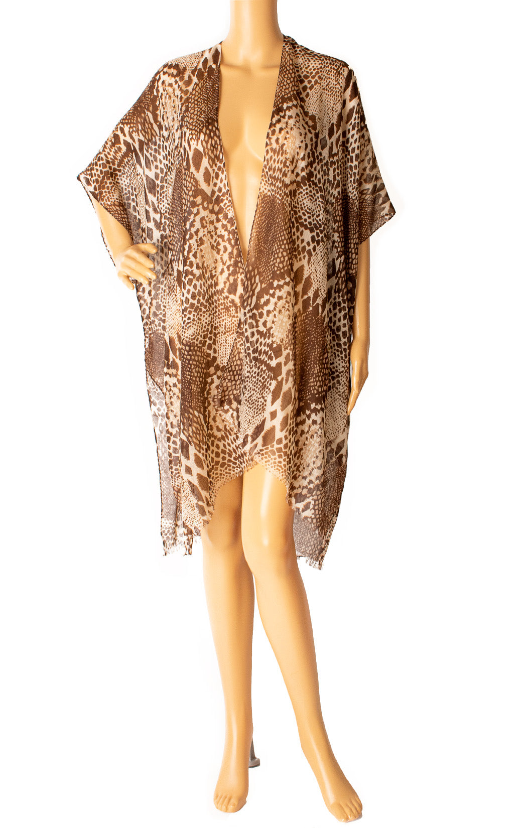 Front view of DO EVERYTHING FOR LOVE with tags Robe/coverup Size: One size