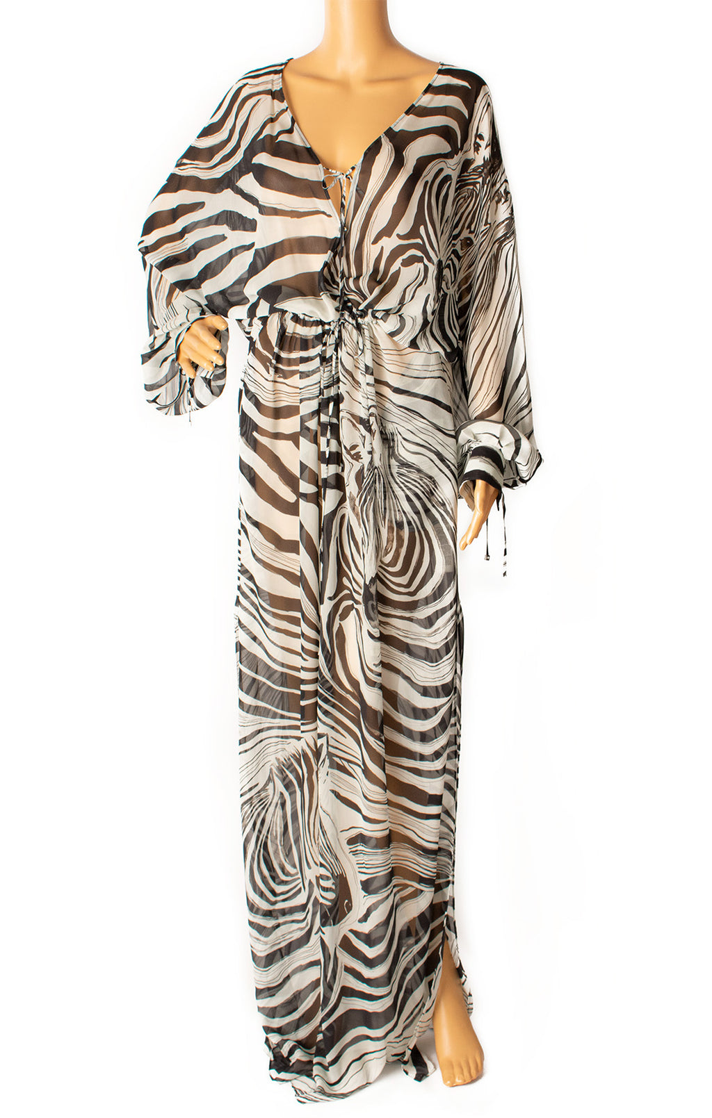 Front view of ROBERTO CAVALLI  Dress/coverup Size: IT 42 (comparable to US 6)