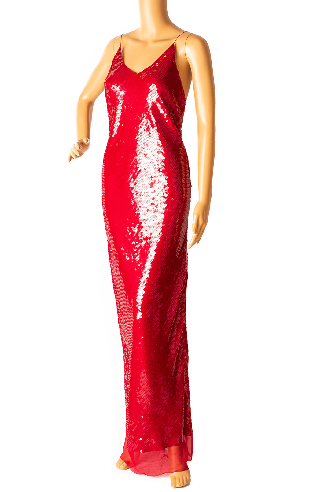Front view of STELLA McCARTNEY Long dress Size: IT 42 (comparable to US 6)