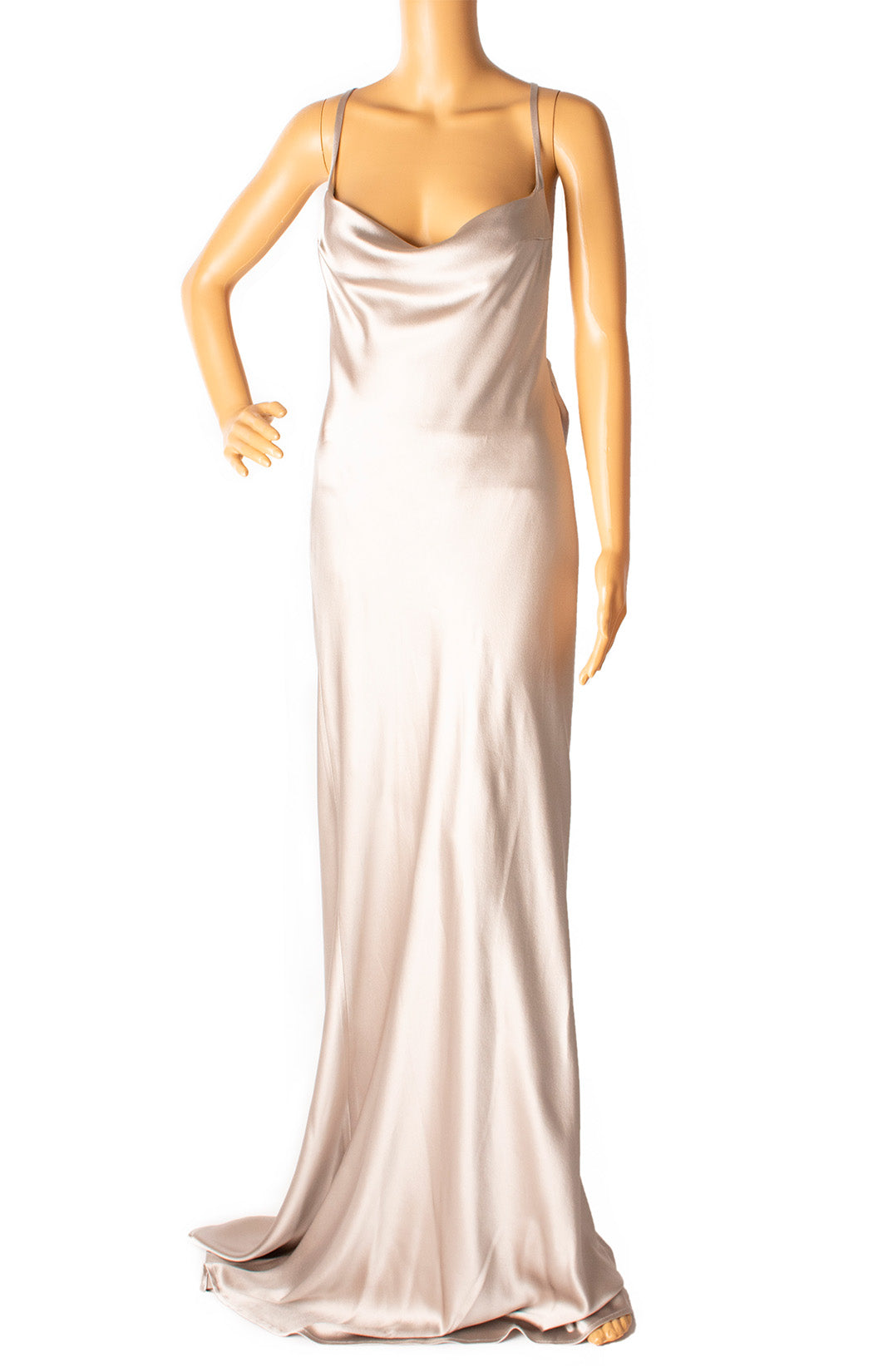 Front view of GALVAN LONDON Long dress Size: 8