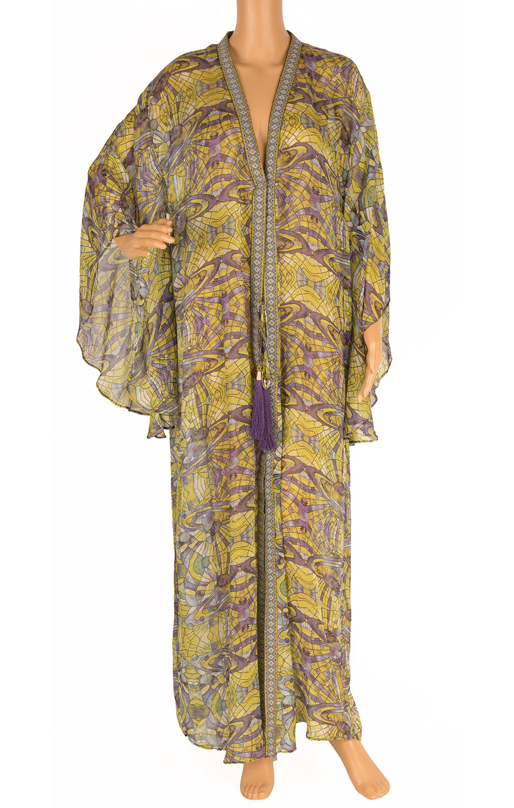 Front view of CHARLENE TANG Caftan Size: One size