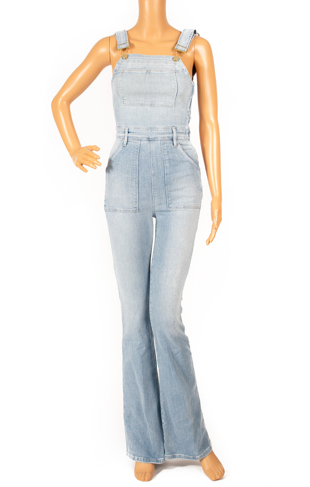 Front view of FRAME Overalls Size: XS
