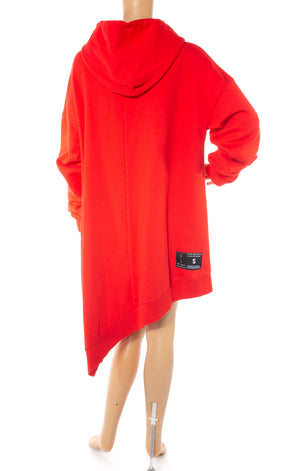 Back view of UNRAVEL w/tags Sweatshirt dress/tunic