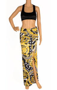 Front view of VERSACE with tags  Skirt Size: IT 38 (comparable to US 2)