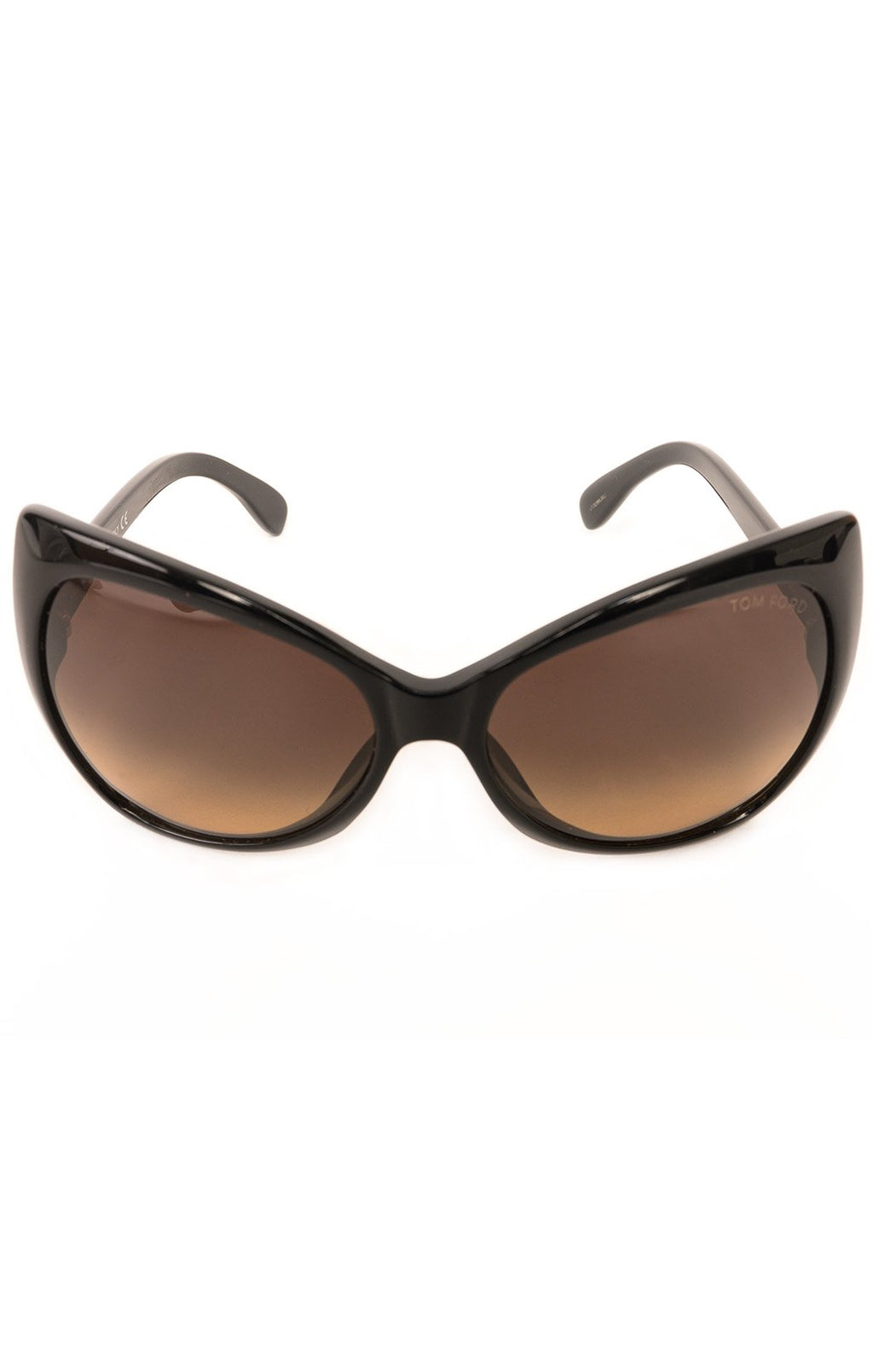 "Front view of TOM FORD Sunglasses  Size: 6"" W x 2.5"" H"