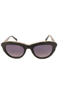 "Front view of WARBY PARKER  Sunglasses  Size: 5.78"" W x 2"" H"