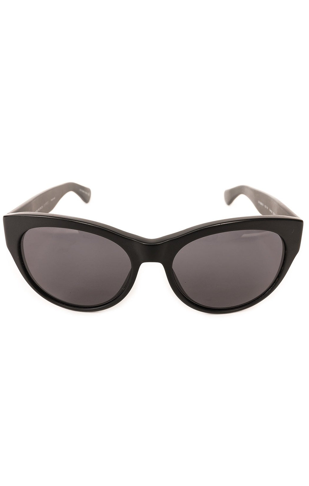 "Front view of OLIVER PEOPLES Sunglasses  Size: 5.5"" W x 2"" H"