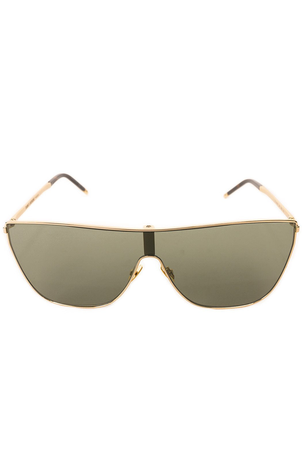 "Front view of SAINT LAURENT  Sunglasses  Size: 5.78"" W x 2"" H"