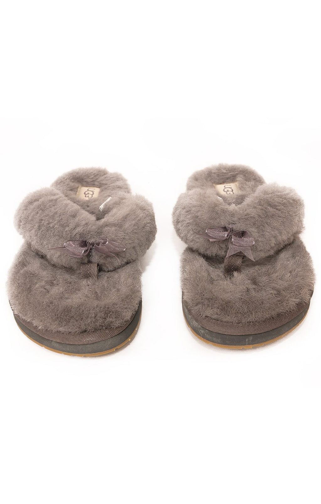 Front view of UGG Flip flop Size: 9