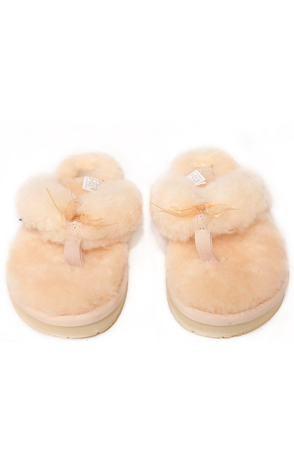Front view of UGG with tags Flip flop Size: 9