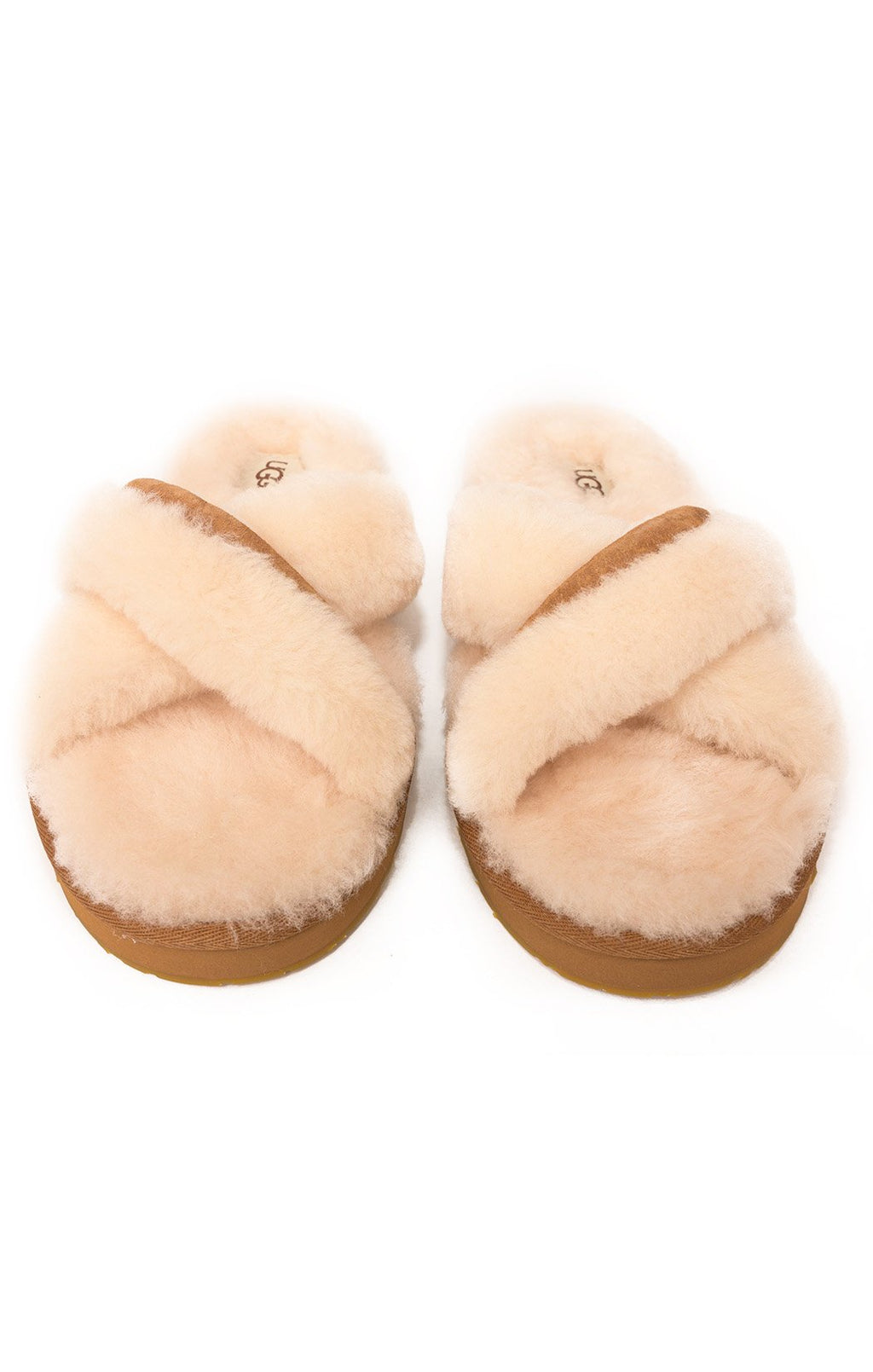Front view of UGG  Slippers Size: 9
