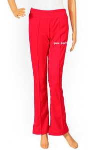 Closeup of PALM ANGELS Track pant Size: Small