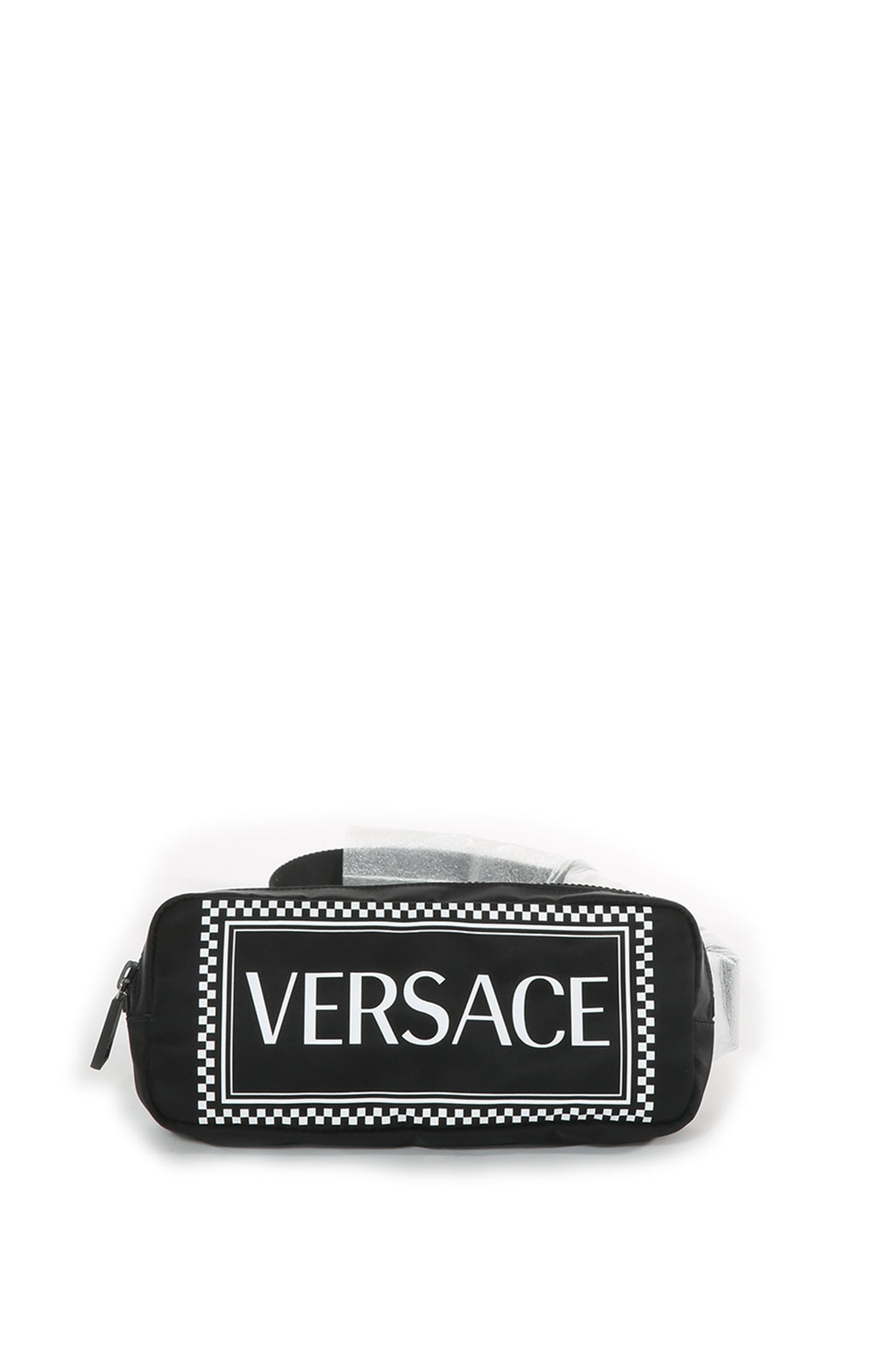 Front view of VERSACE Belt Bag Size: 9 in x 4 in x 2 in