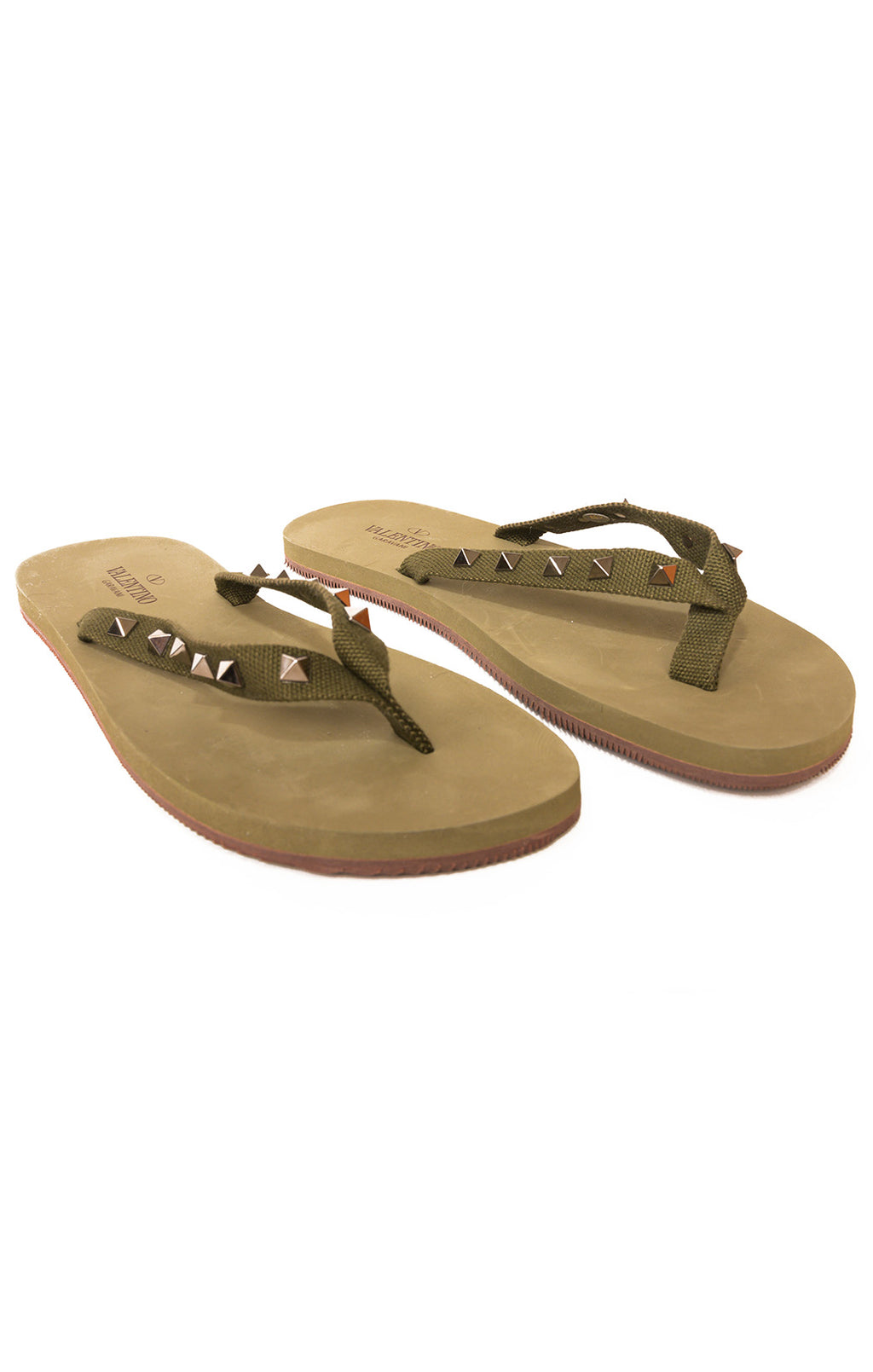 Front view of Valentino Flip flops Size: no size tags fits like size 9