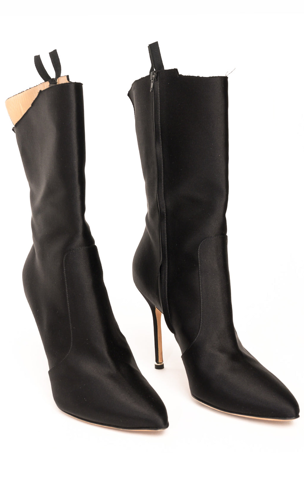 Front view of MANOLO BLAHNIK Boots Size: 39/9