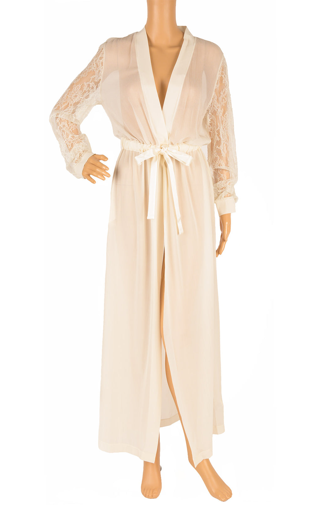 Front view of LA PERLA with tags Robe Size: Medium