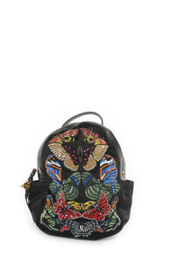 Front view of ALEXANDER McQUEEN Backpack with Tags Size: 9 in x 13 in x 3 in