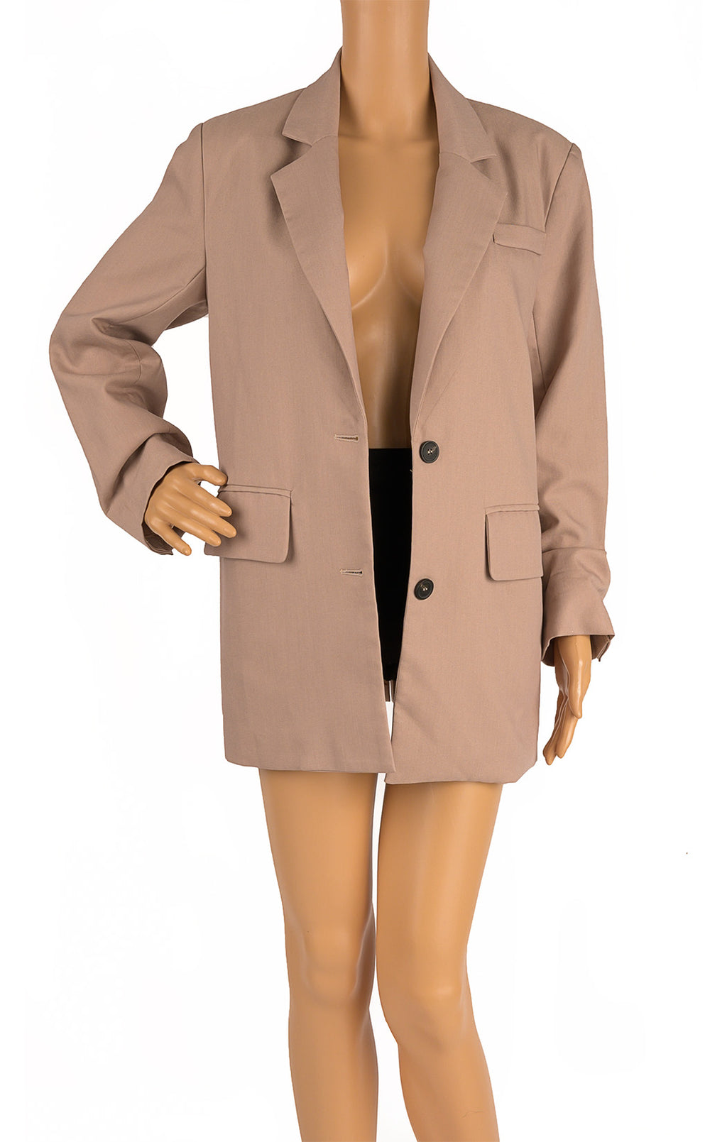 Front view of STYLE ADDICT Blazer Size: Medium