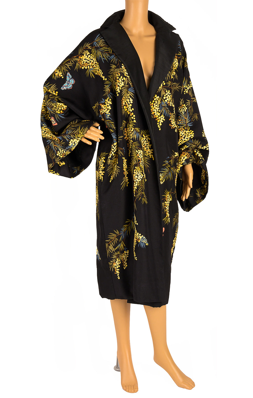 Front view of DOLCE & GABBANA  Coat Size: no size tags fits like Medium