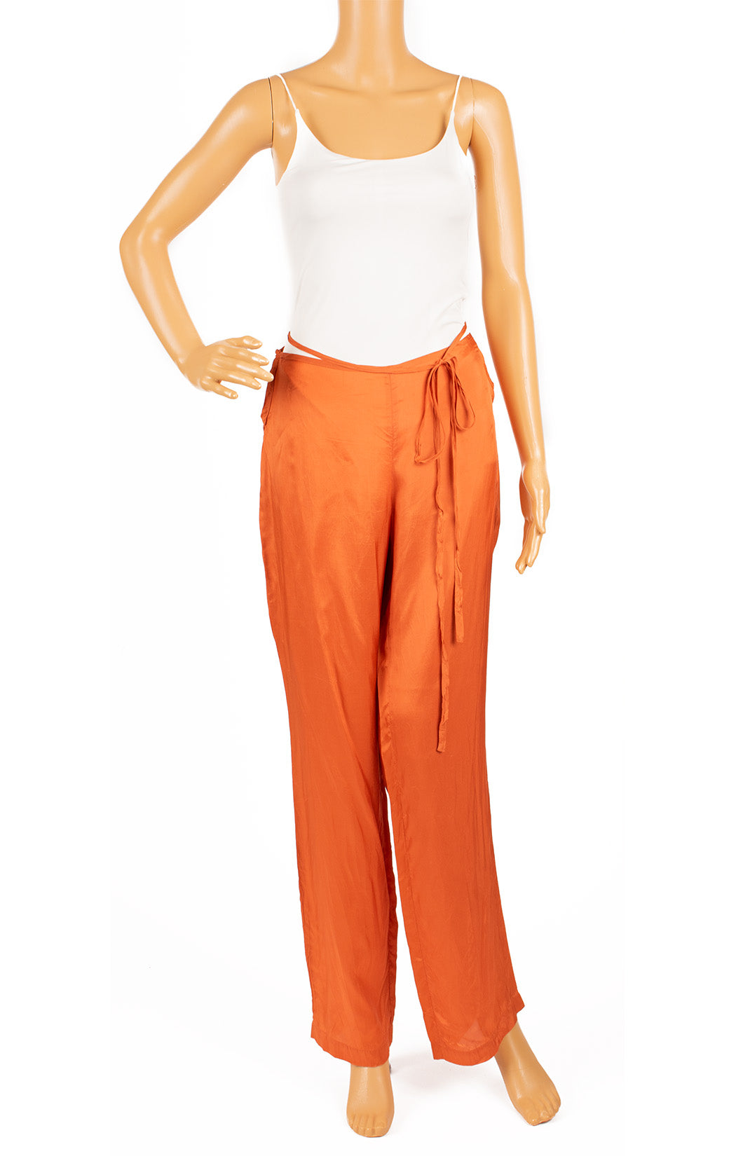 Front view of COSTUME NATIONAL Pant Size: 42 comparable to US 4