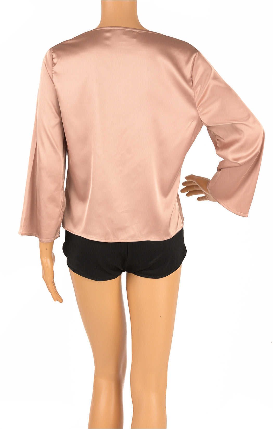 Back view of STYLE ADDICT Blouse