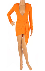 Front view of ALEXANDRE VAUTHIER  Bodysuit and skirt Size: FR 36 (comparable to US 2-4)