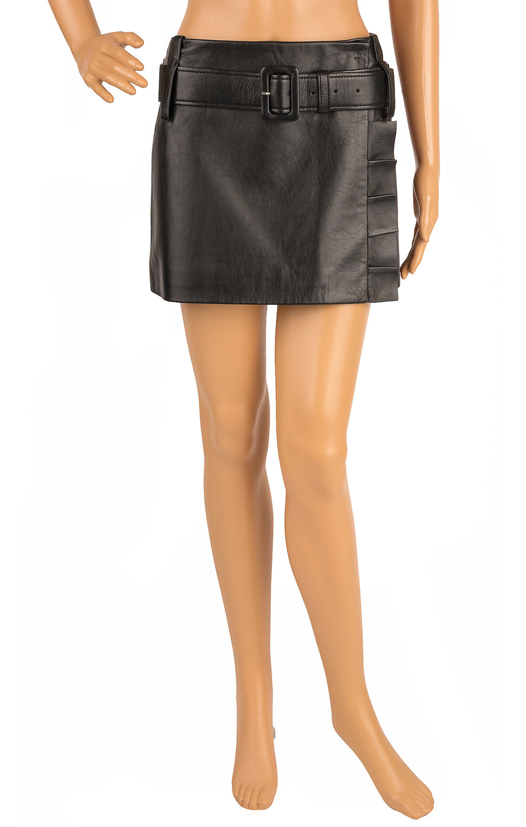 Front view of PRADA with tags Skirt Size: IT 42 (comparable to US 4-6)